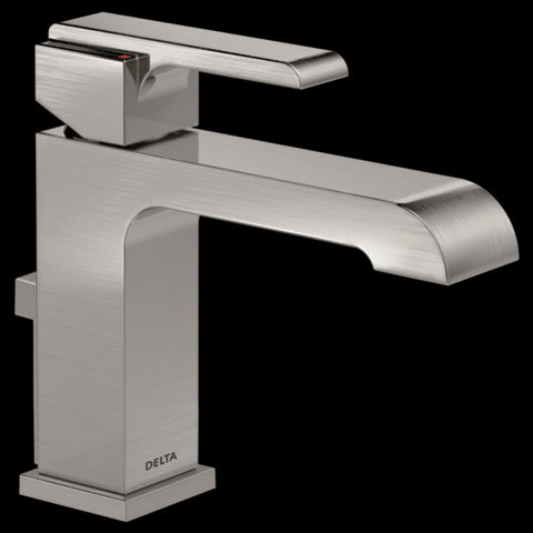 Delta Ara Single Hole One Handle Tract-Pack Bathroom Faucet 567LF-SSTP