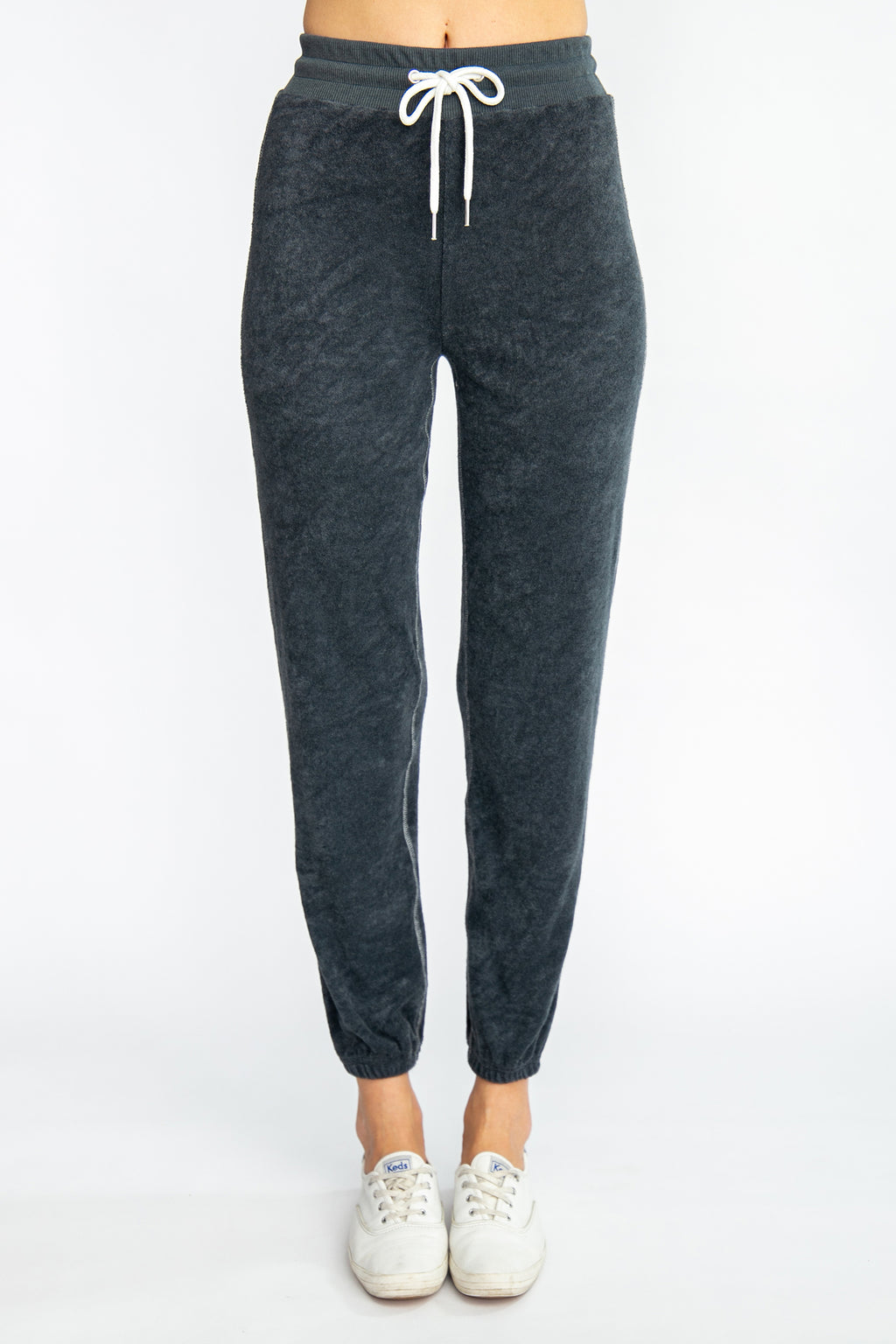 Cropped Terry Joggers