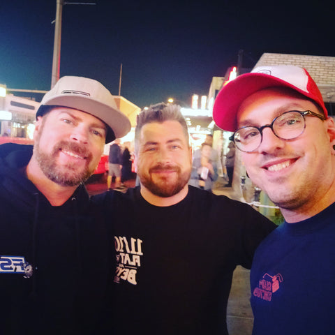 Mike Finnegan from Motortrend TV, Roadkill and Faster with Finnegan, great guy and super cool to meet him in Vegas just before the SEMA Show!