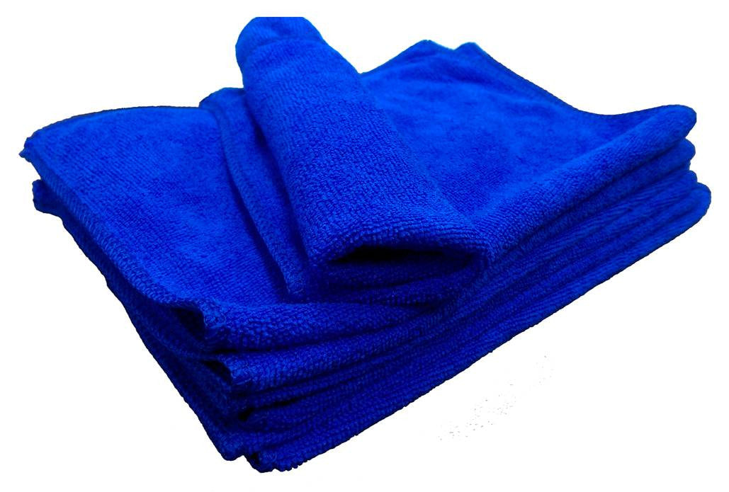 Microfibre cloth 30x20 BLUE