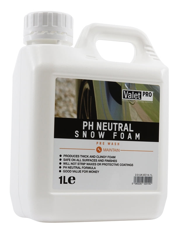 ValetPRO PH Neutral Snowfoam 1L
