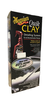 Meguiars quick clay kit