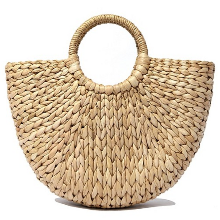 July - Straw Tote Bag