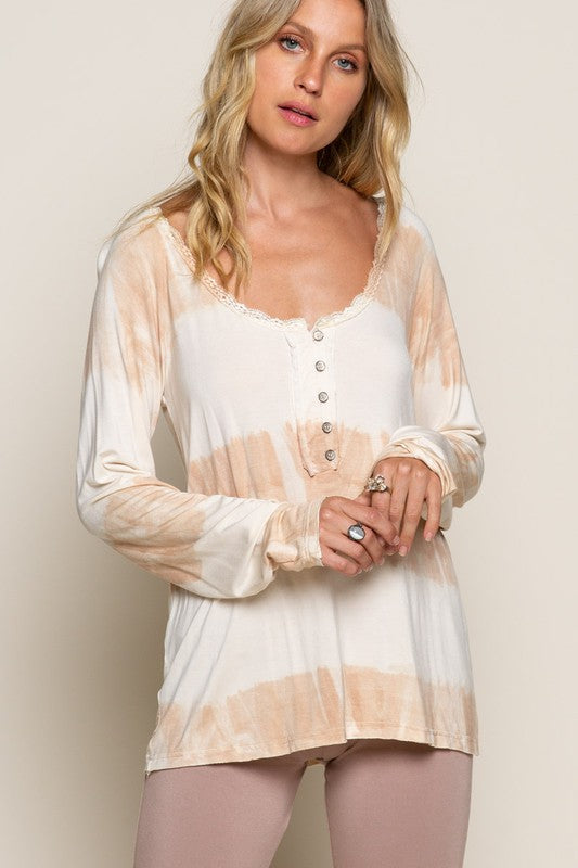 Autumn - Dip Dye Long Sleeve Top