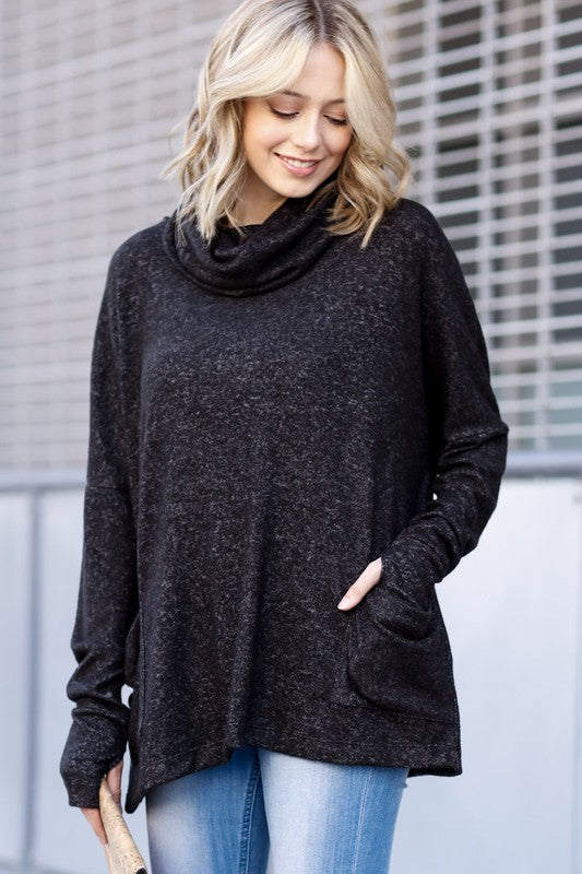 Betty - Cowl Neck Sweater