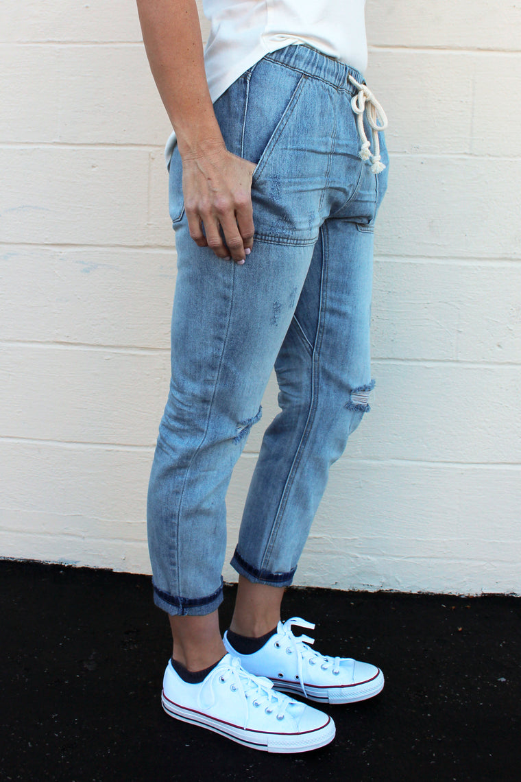 Betty - Boyfriend Cargo Pants