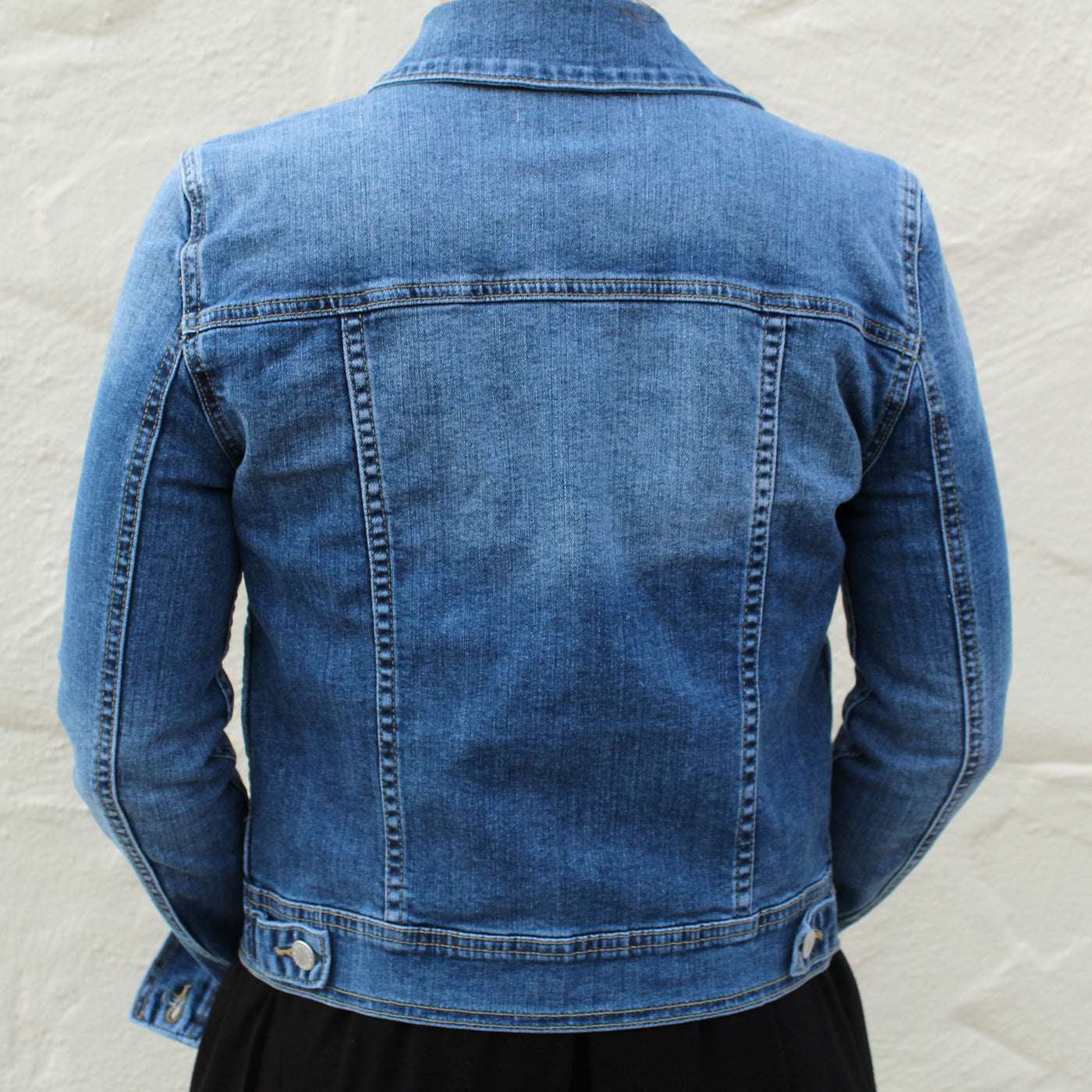 38a45350d455 Casey - Denim Jacket - The Mom Capsule