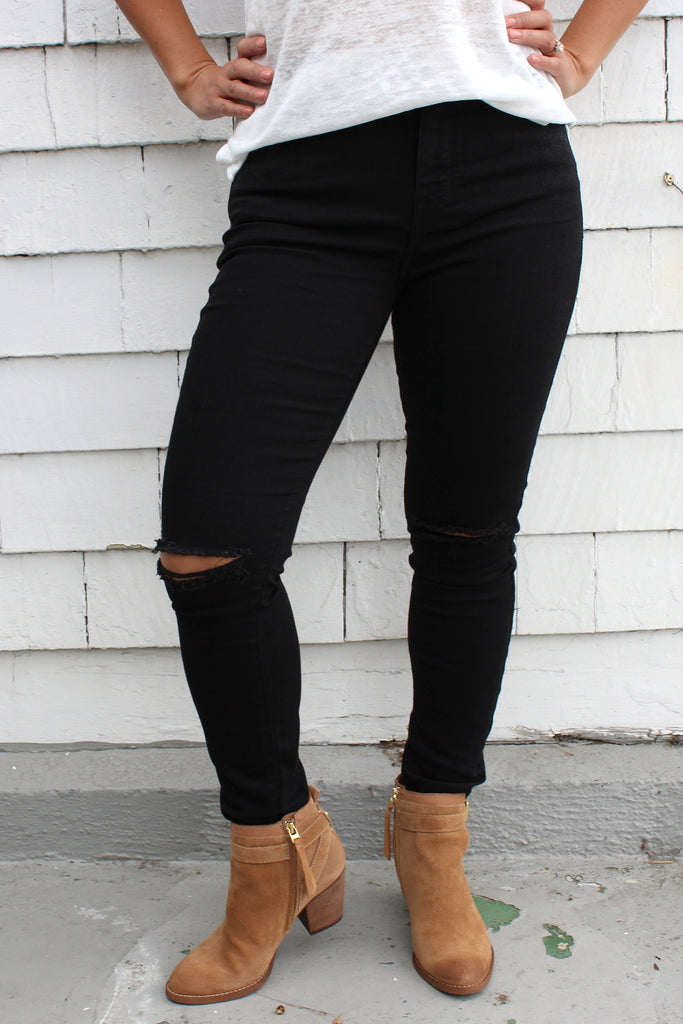 Devin - High Rise Skinny Jeans