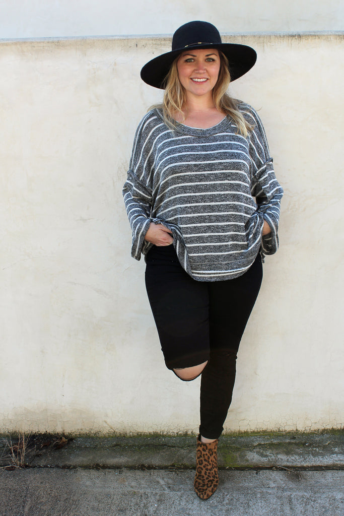 Dinah - Slouchy Knit Top