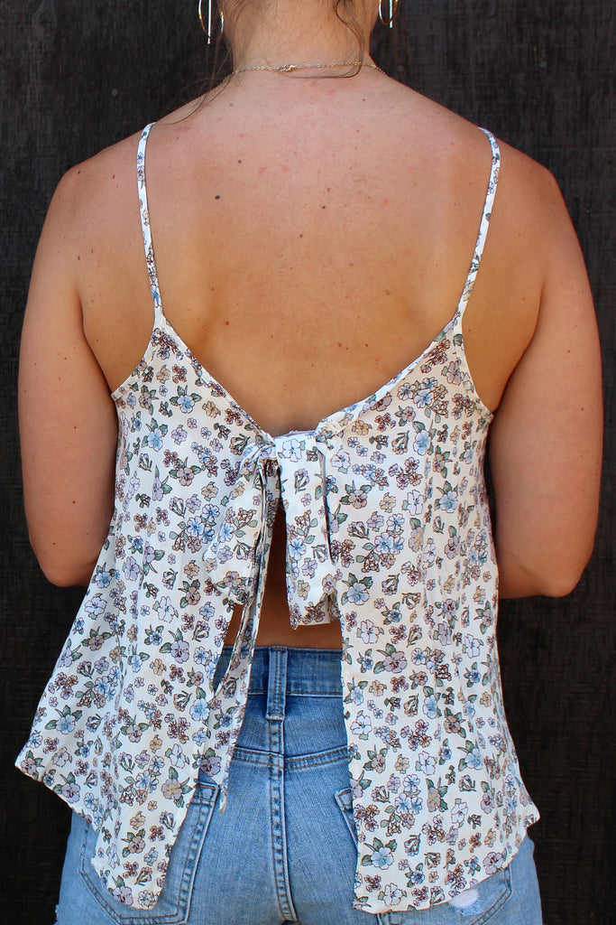 Dorthy - Open Back Tank Top