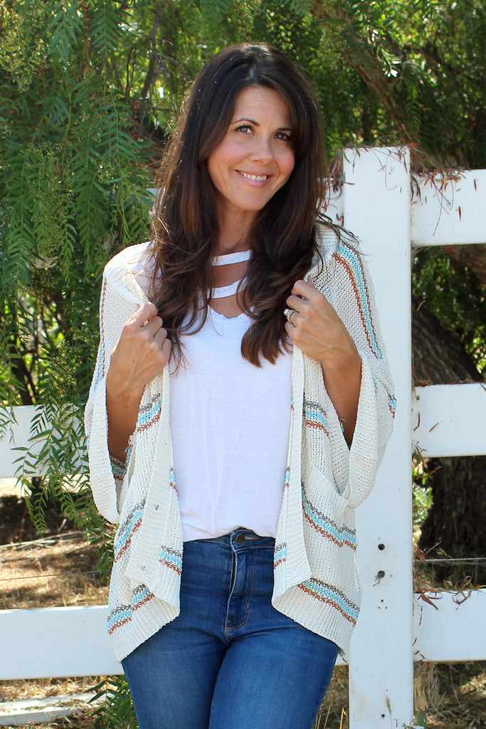 Gracie - Boho Sweater