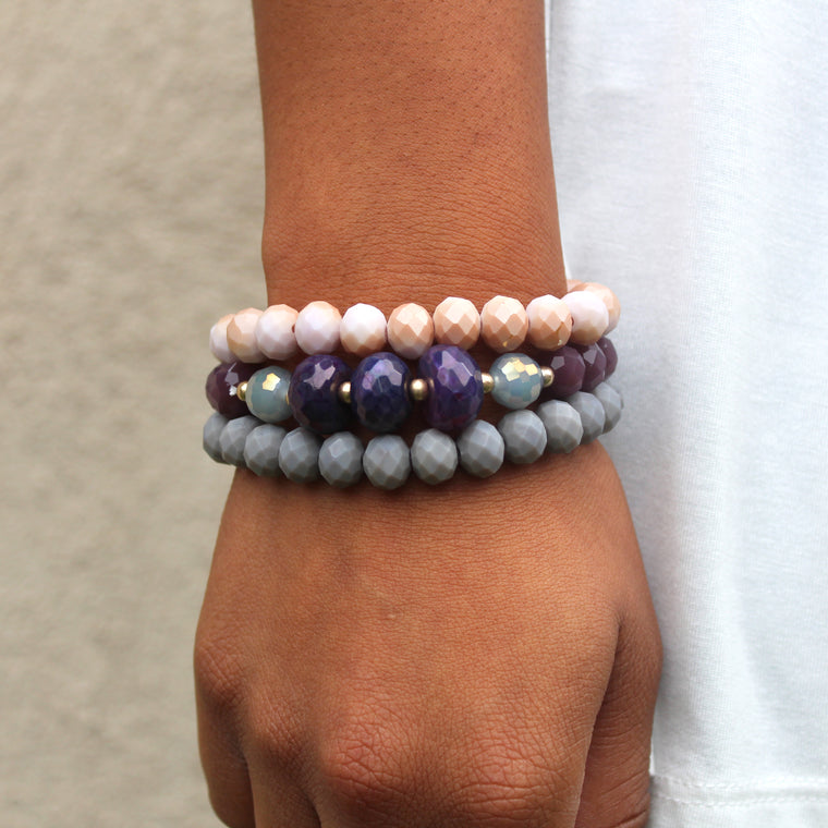 Harmony - Beaded Bracelet Trio