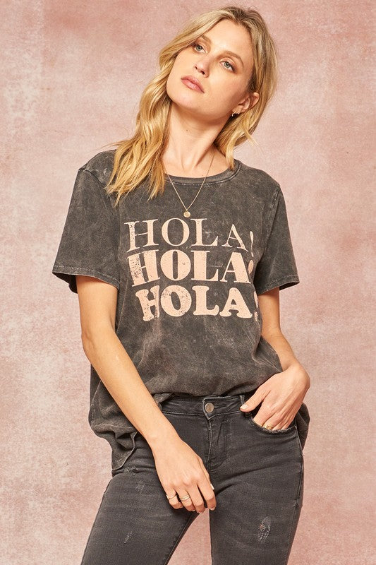 Hola Graphic Tee