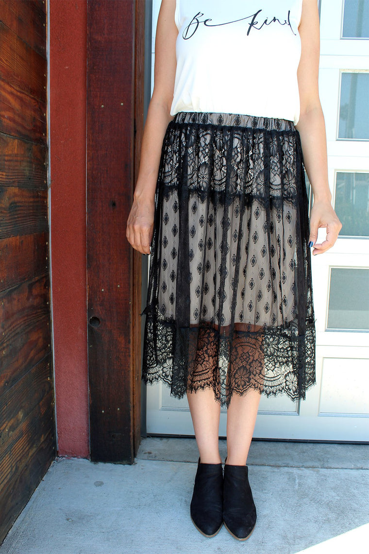 Ireland - Lace Skirt