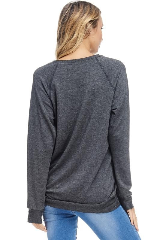 Mama Graphic Long Sleeve Top