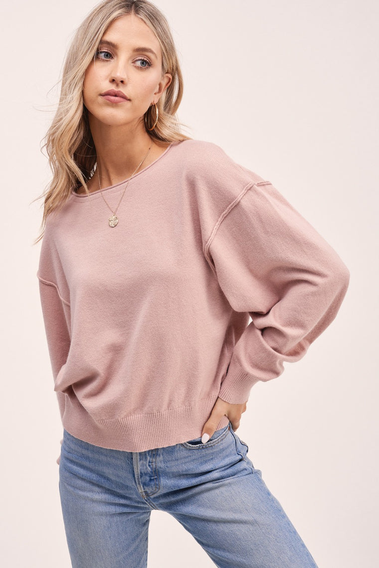 Linz - Boatneck Sweater