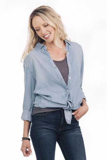 Michelle - Chambray Shirt