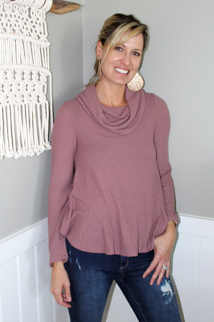 Melody – Cowl Neck Thermal