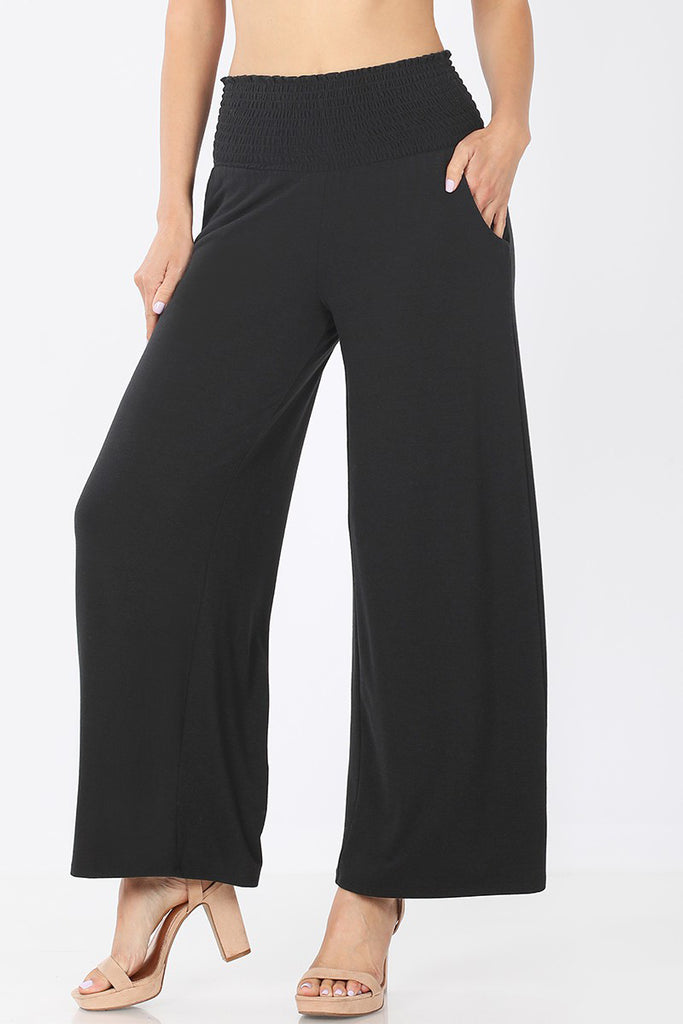 Nicky - Lounge Pants, Black