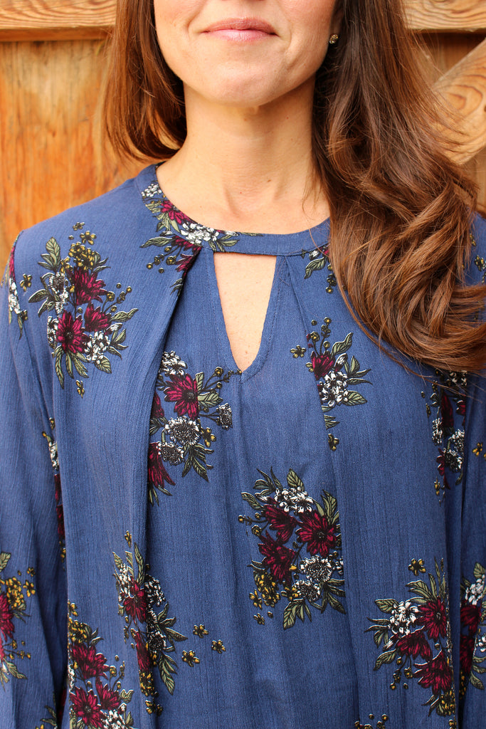 Piper - Floral Long Sleeve