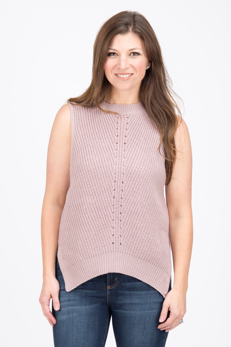 Rose - Sweater Tank