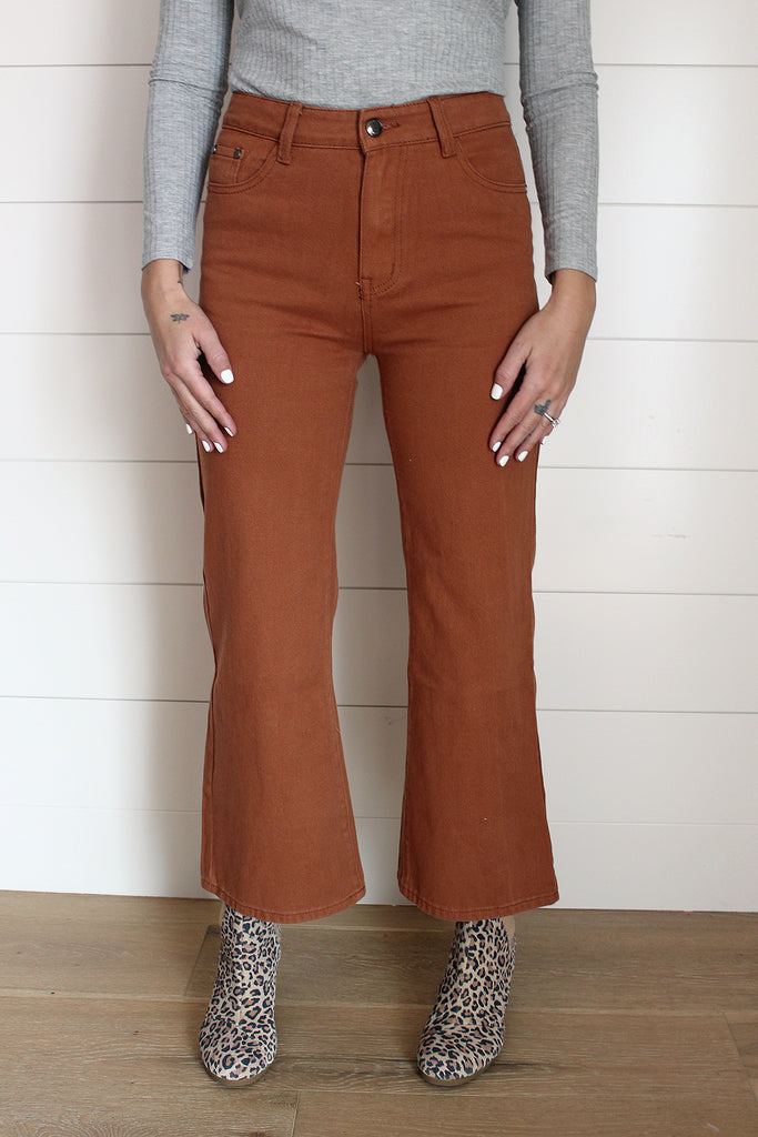 Rusty - Cropped Jeans