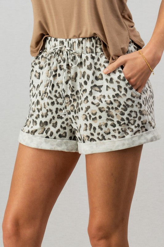 Sammy - Leopard Shorts