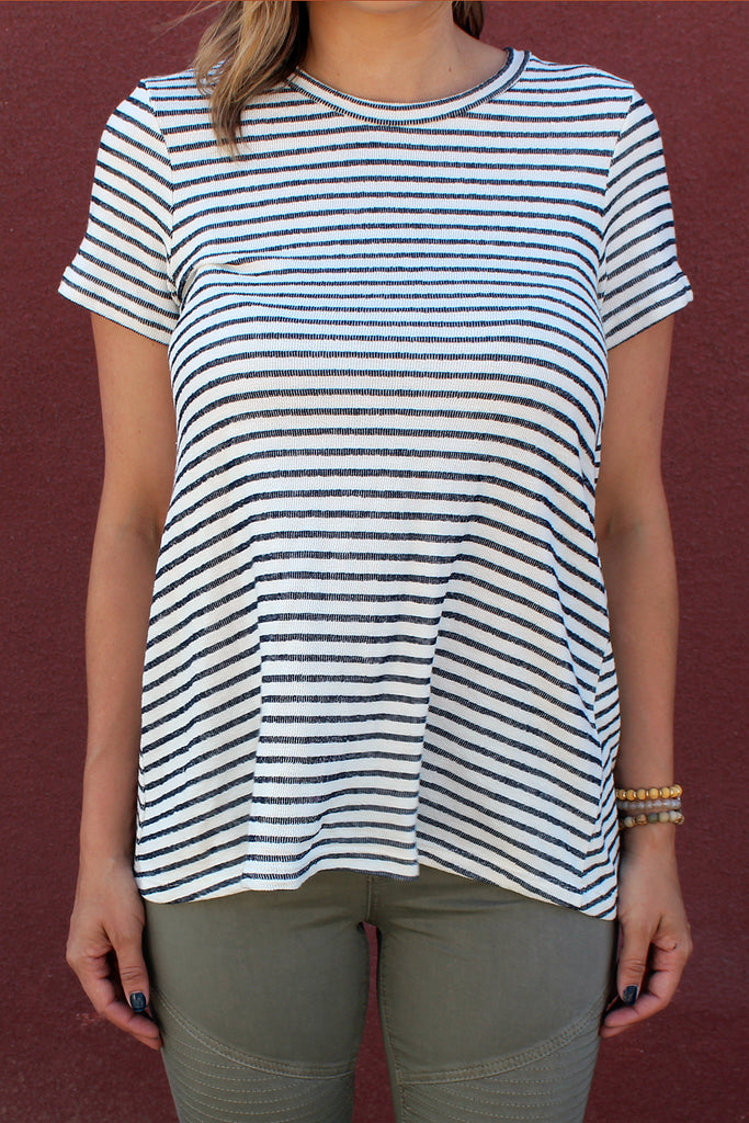 Saylor - Striped Tunic Top