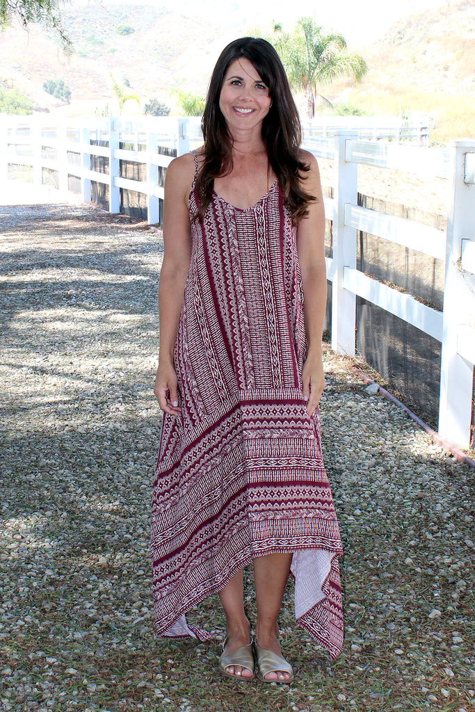 Sianne - Tribal Print Dress