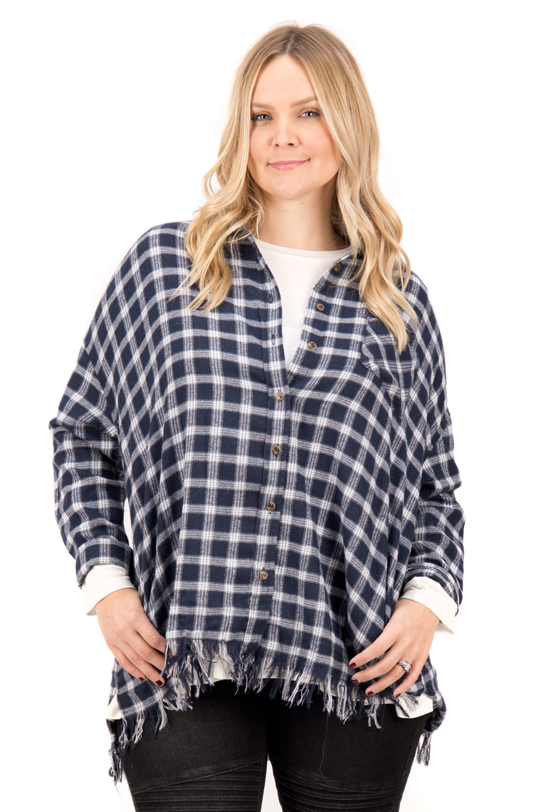 Stephie – Flannel with Pockets