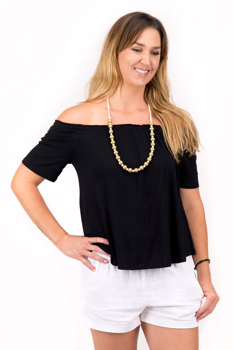 Brandi - Off Shoulder Top