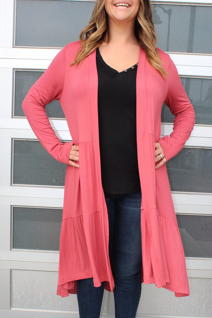 Marsala - Tiered Duster