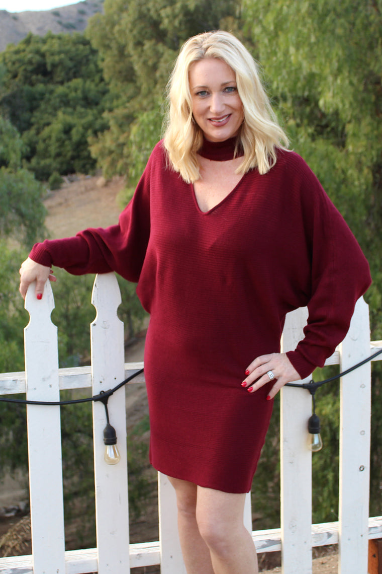 Gloria - Sweater Dress