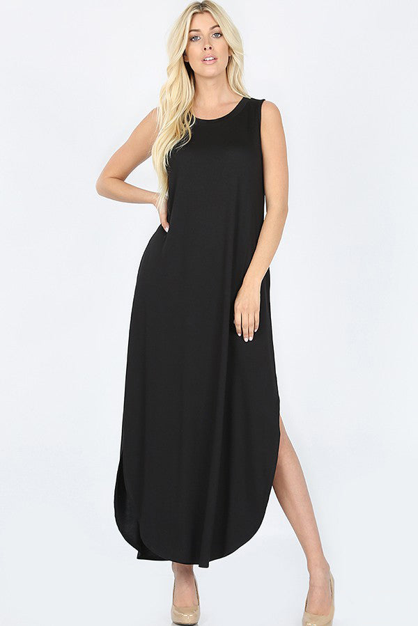 Zeta - Sleeveless Midi Dress