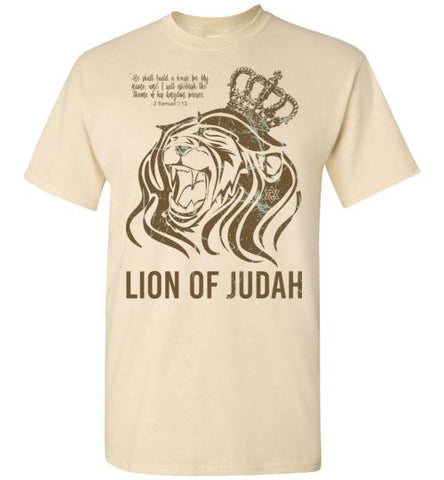 Lion of Judah Tee MENS