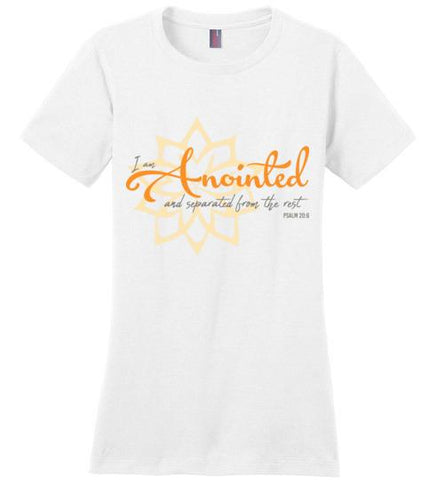 Anointed Tee (District Made Ladies Perfect Weight Tee)