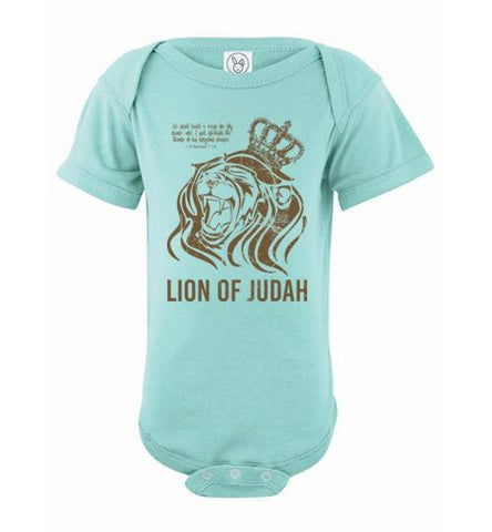 Lion of Judah Tee (Infant Bodysuit)