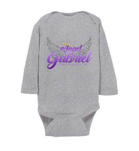 Angel Gabriel Infant Bodysuit (Heather) | YahWeh.io