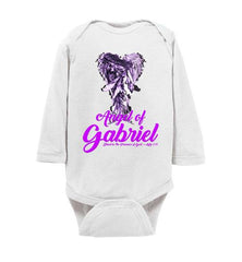 """Gabriel's Wings"" Infant Fine Long Sleeve Jersey Bodysuit Onesie"