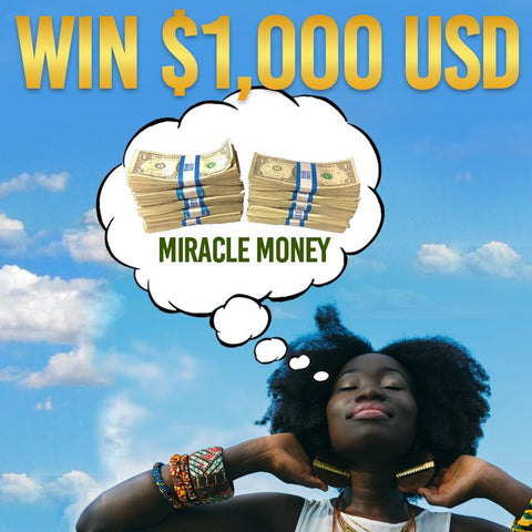 """Miracle Money"" Raffle - WIN 1,000 USD!!"