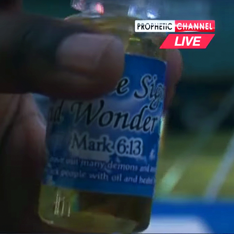 SUNDAY $15 OILS - Miracle Signs & Wonder Oil