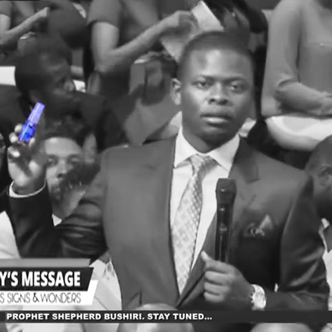 Prophet Bushiri: Miracle Signs & Wonder Oil