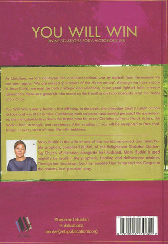 Book: You Will Win by Mary Bushiri- ECG Church America