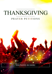 Bushiri: Thanksgiving