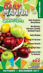 Our Daily Manna- A Devotional Booklet for Champions