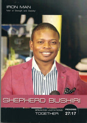 Prophet Shepherd Bushiri Iron Man Book- ECG Church America