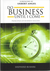 Book Do Business Until I Come- ECG Church America