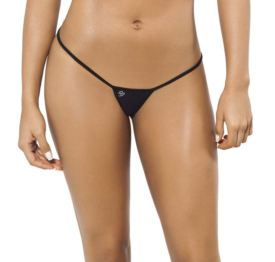 Joe Snyder Women Skyros V-String Black-OS