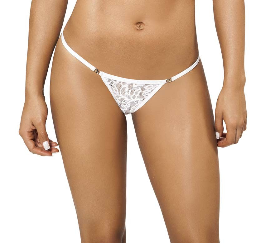Joe Snyder Women Naxos Kini White Lace-OS