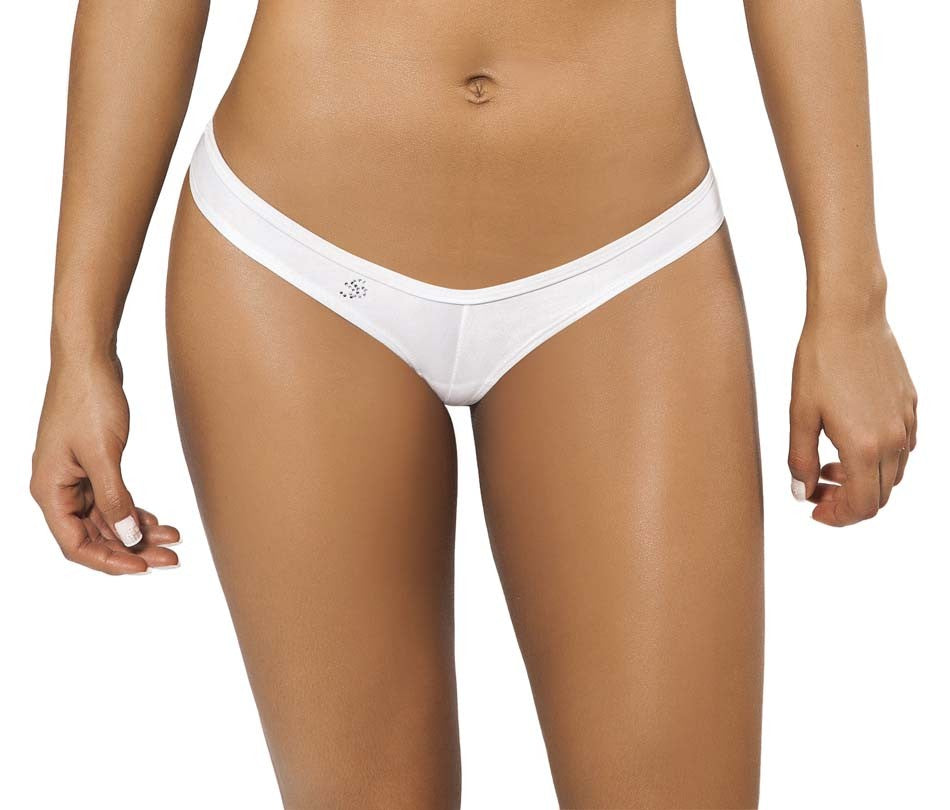 Joe Snyder Women Rhodes Tanga White-OS